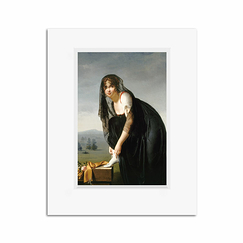 Reproduction Nisa Villers - Presumed portrait of Mrs. Soustras