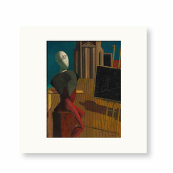 Reproduction Giorgio de Chirico - The seer