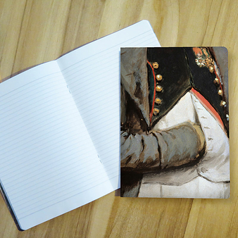 Édouard Detaille Notebook - Napoleon 1st and his staff - A4