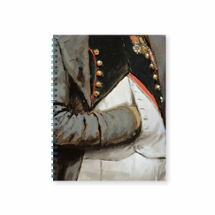 Edouard Detaille - Napoleon 1st and his staff Notebook with spirals