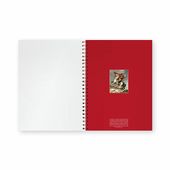 Napoleon Bicentenary Notebook with spirals