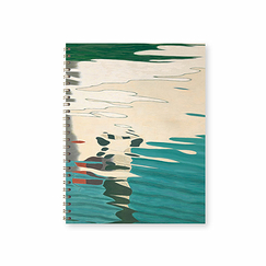 Hans Emmenegger - Reflections on water Spiral Notebook