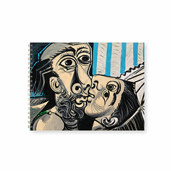 Spiral notebook Pablo Picasso - The Kiss