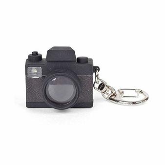 Porte-clé Appareil photo avec LED