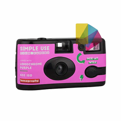 Simple Use Lomochrome Purple Reusable Camera - Pink