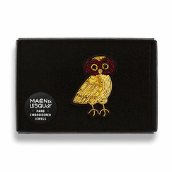 Owl Brooch - Macon & Lesquoy