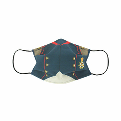 Reusable mask Redingote of Napoleon