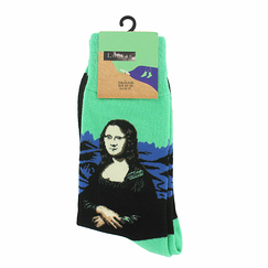 Green Socks Mona for man - 12-17 - Musée du Louvre
