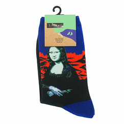 Blue Socks Mona for woman - 8-13 - Musée du Louvre
