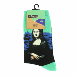 Green Socks Mona for woman - 8-13 - Musée du Louvre