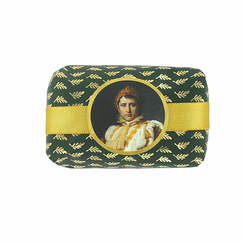 Perfumed soap Cedar, amber and musk without palm oil - Portrait of Napoleon