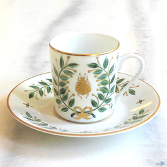 Empire Porcelain Coffee Cup - Laure Sélignac