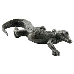 Crocodile Barye - Bronze