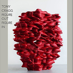 Exhibition catalogue Tony Cragg - Figure out, figure in