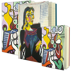 2 notebooks and 1 small notebook Picasso
