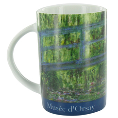 "Musée d'Orsay - Monet ""Japanese Bridge"" Mug"