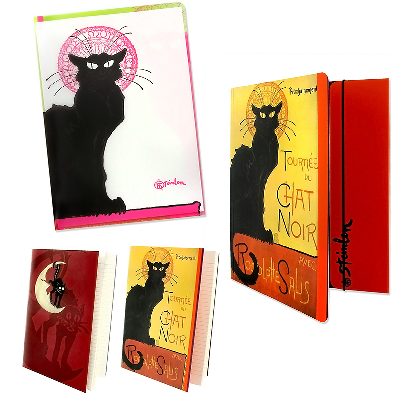 """The Black Cat"" Stationery Set"