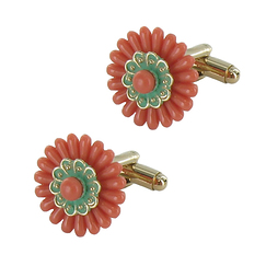 Flower Cuffkinks