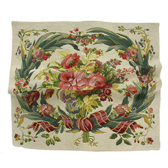 Cushion cover tapestry Bouquet