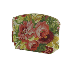 Bouquet Tapestry Cosmectic Bag