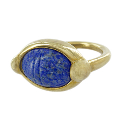 Scarab ring with the name of Queen Iahhetep