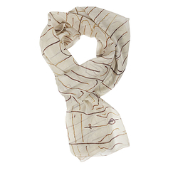 "Scarf Brancusi ""The Kiss"""