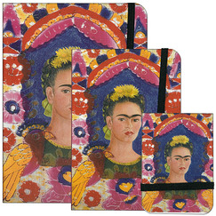 "Stationery Frida Kahlo ""The frame"""