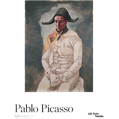 "Affiche Picasso ""Arlequin"""