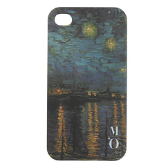 "IPhone 4 case - ""Starry night"" - Van Gogh"