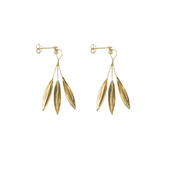 Coronet of laurel leaf Earrings