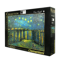 1000 Pieces Puzzle - Starry Night Over the Rhone