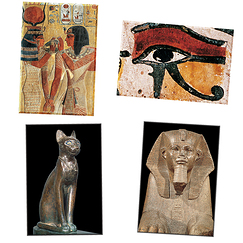 Egypt 4 Magnets Set