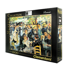 1000 Pieces Puzzle - Renoir - Dance at Le moulin de la Galette