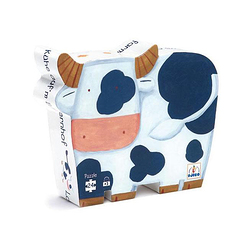 Cows at the farm - - Puzzle 24 pieces