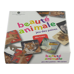Memory game - Beauté animale (Animal beauty)