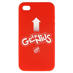 "Coque Iphone 4 ""Genius"""