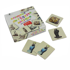 Memory game - Animaux de l'Égypte antique ( Animals of Ancient Egypt)