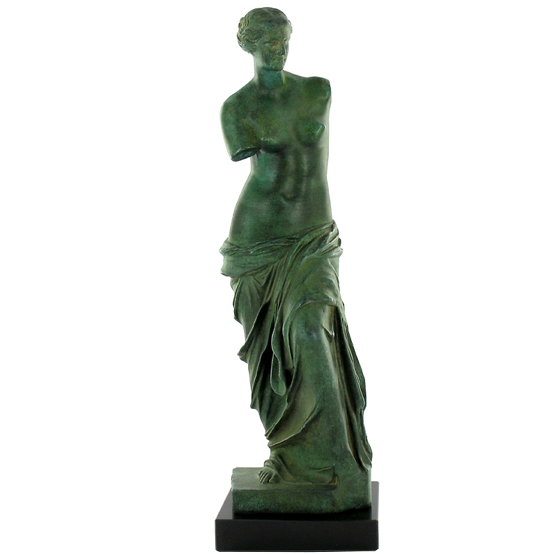 "Aphrodite known as the ""Venus of Milo"""