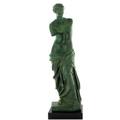 "Aphrodite known as the ""Venus of Milo"" - bronze"