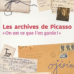 Catalogue Les archives de Picasso
