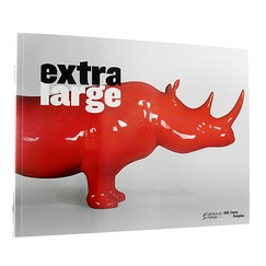 Exhibition catalogue Extra large