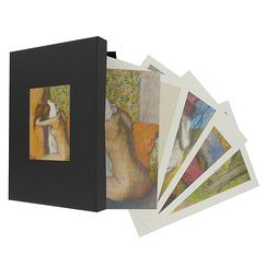Box of 16 Edgar Degas postcards 14x20 cm