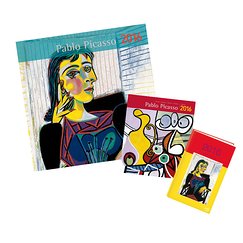 Picasso 2016 Calendars and diary set