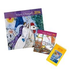 Chagall 2016 Calendars and diary set