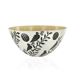 "Large Bowl ""Tree Birds"""