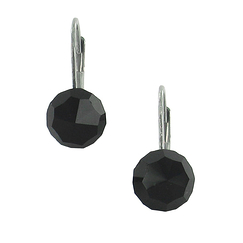 Jet beads Earrings