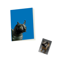 """Felids"" Notebook and Magnet Set"