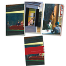 "3 Small notebook ""Edward Hopper"" Exhibition"