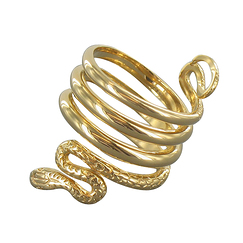 Snake Ring - Gold plated