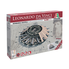 Leonardo da Vinci multi-cannon gunship Model Kit